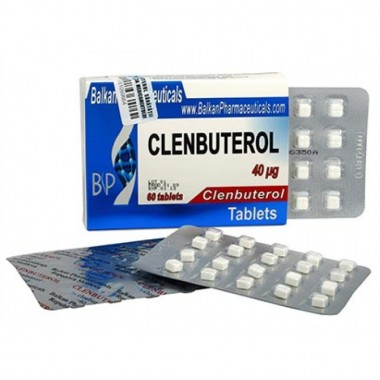 Clenbuterol Кленбутерол 40 мкг, 100 таблеток, Balkan Pharmaceuticals в Кызылорде