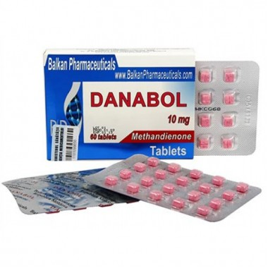 Danabol Данабол Метандиенон Метан 10 мг, 100 таблеток, Balkan Pharmaceuticals в Кызылорде