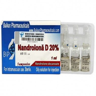 Nandrolona D 20% Нандролон Деканоат 200 мг/мл, 10 ампул, Balkan Pharmaceuticals в Кызылорде