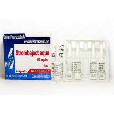 Strombaject aqua Стромбаджект аква 50 мг/мл, 10 ампул, Balkan Pharmaceuticals в Кызылорде