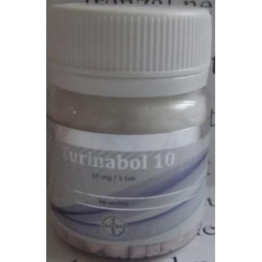 Turinabol Туринабол 10 мг 100 таблеток, Bayer AG в Кызылорде