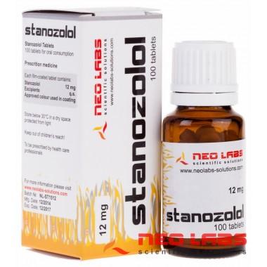 Stanozolol Станозолол 12 мг, 100 таблеток, Neo Labs в Кызылорде