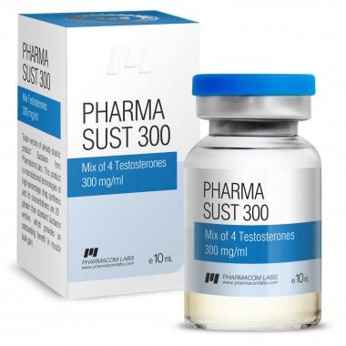 PHARMASUST 300 Тестостерон Микс 300 мг/мл, 10 мл, Pharmacom LABS в Кызылорде