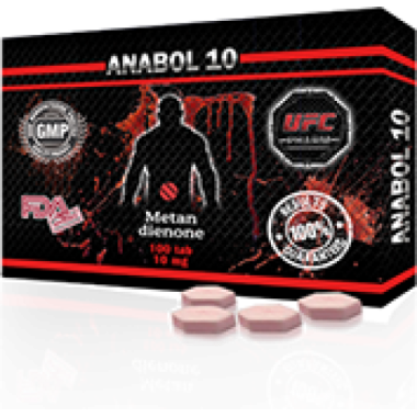 ANABOL 10 Анабол Метан Метандиенон 10 мг, 100 таблеток, UFC PHARM в Кызылорде