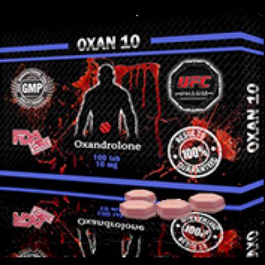 OXAN 10 Оксандролон 10 мг, 100 таблеток, UFC PHARM в Кызылорде