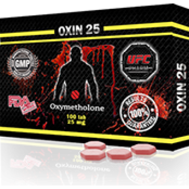 OXIN 25 Оксиметолон 25 мг, 100 таблеток, UFC PHARM в Кызылорде