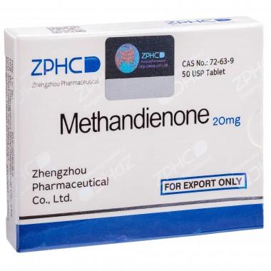 Methandienone Метандиенон 20 мг, 50 таблеток, ZPHC в Кызылорде