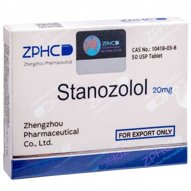 Stanozolol Станозолол оральный 20 мг, 50 таблеток, ZPHC в Кызылорде