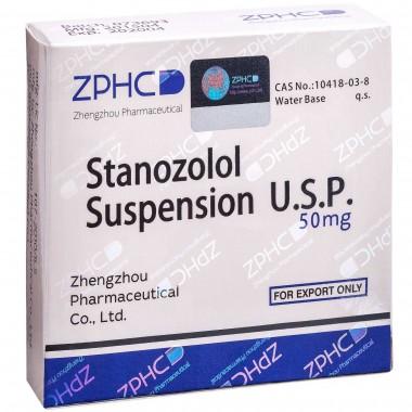 Stanozolol Suspension Станозолол суспензия 50 мг, 10 ампул, ZPHC в Кызылорде