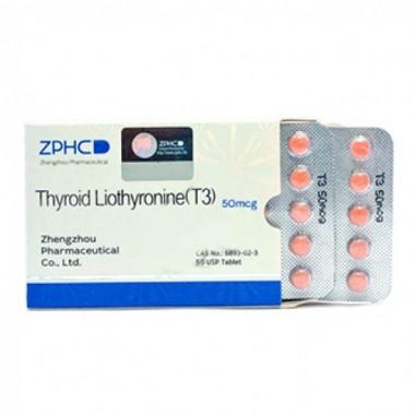 Thyroid Liothyronine T3 Трийодтиронин 50 мкг, 50 таблеток, ZPHC в Кызылорде